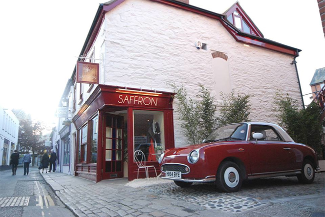 Win a meal for two at Saffron